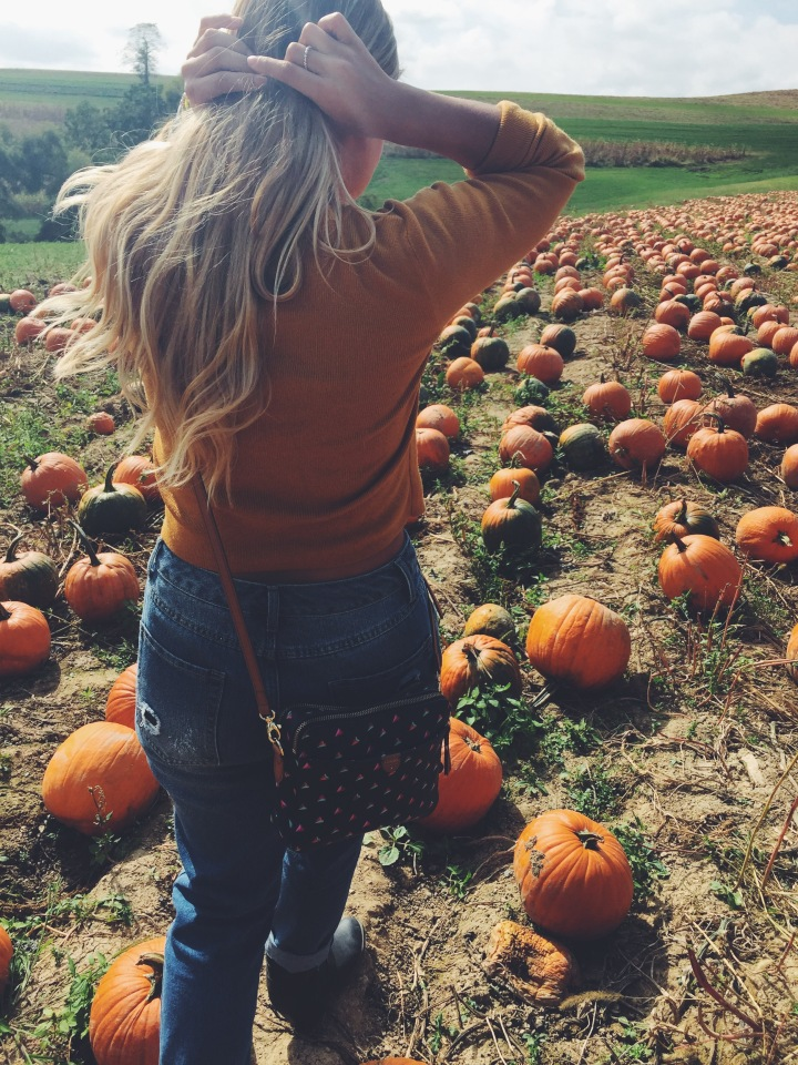 Pumpkin Patch Saturday #ootd 🌻🍂🎃
