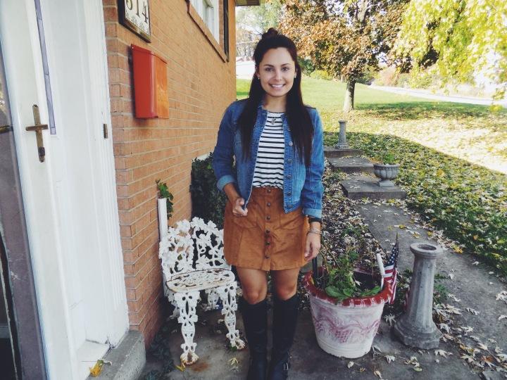 Recreating Pinterest Outfits #1 – FallOOTD