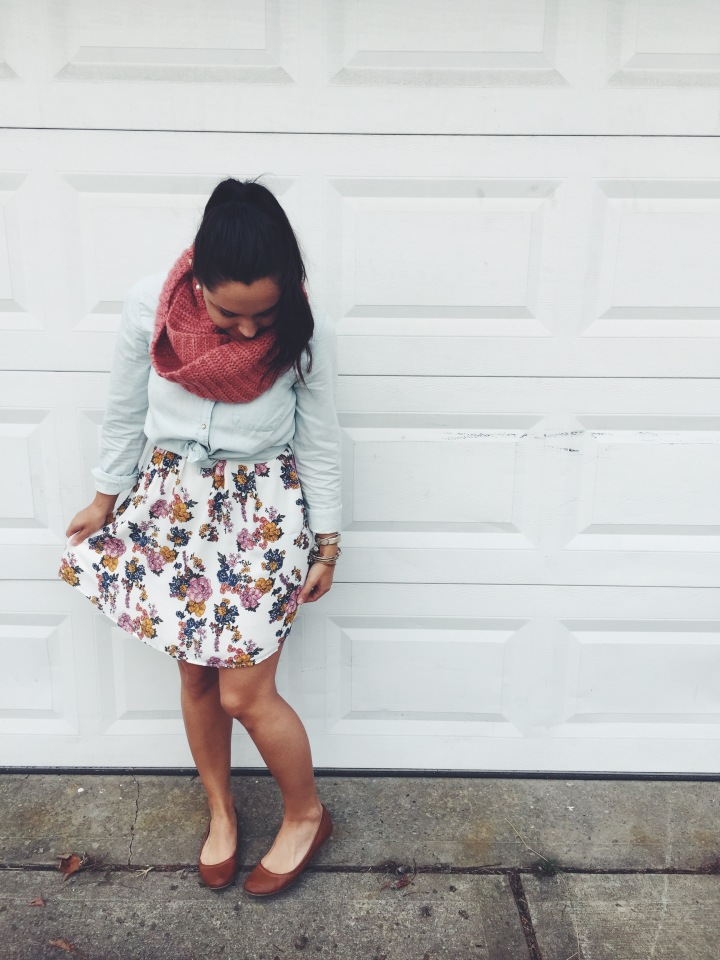 A little Preview of Spring Florals! #ootd🌸🌻💛