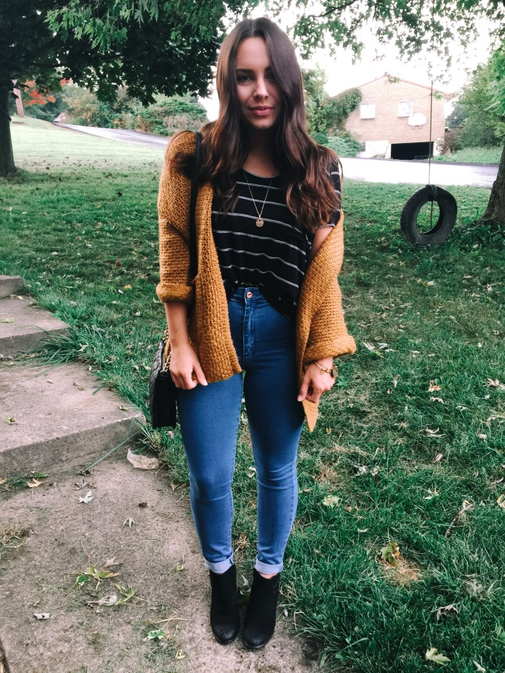 Fall Transition #OOTD | SheIn Collab🍃🍂🌻