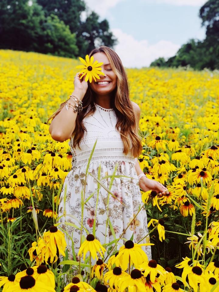 A Floral Maxi Dress Under $20 | #OOTD🌻