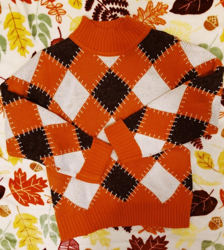 THE October Sweater | LEXTOBER #17🕸🎃🍂🧟♂️🖤